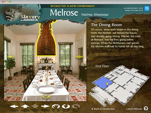 Melrose Interactive Slavery Environment